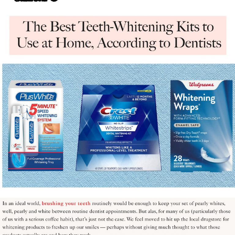 Link to an Allure Article about The Best Home Teeth Whitening Kits